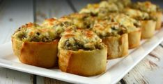 Crispy Cheesy Mushroom Bites - Kitchen Divas - Recipes and household tips Appetizers For Party, Appetizer Recipes, Gluten Free Puff Pastry, Stuffed Mushrooms, Stuffed Peppers, Grilled Mushrooms, Foie Gras, Appetisers, Clean Eating Snacks