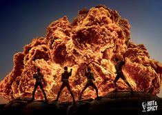 KFC reimagines fried chicken as flames 🔥