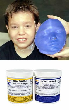 Silicone Body Mold   Smooth-On Body Double® Life Casting Silicone - Standard Set Trial ...