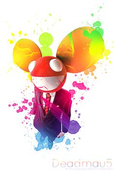 deadmau5...when i'm in the mood for a change, Deadmau5 brings some cool as stuff