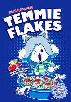 Temmie Flakes! by watermelonium