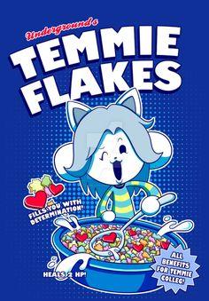 Temmie Flakes! by watermelonium