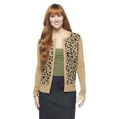 LOOOVE the leopard print. This looks like it costs SO much more than $22.50!
