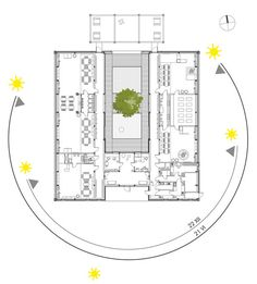 Yellow Elephant Kindergarten / xystudio Floor Plan
