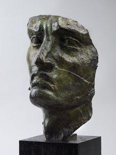 Emile-Antoine BOURDELLE (1862-1929) ,Head of a Warrior, 1893-1900