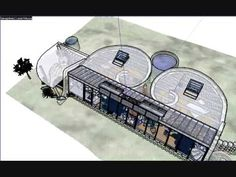 Earthship Design. I Kinda Like The Dual Spiral, And What That Ended Up Doing
