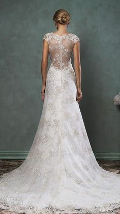 Why should you choose an A-line wedding dress? Such a gown will make you look incredibly feminine and gorgeous, just like no other! They can be slim ...