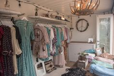 Travelling shop (in a shipping container) for the festival circuit (Spell Store at Splendour | Spell Designs)