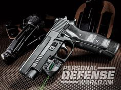 The Sig Sauer P227 TacOps is easy to grip and maxed-out on power, features and controllability.