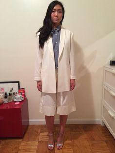 #옷스타그램#데일리룩 #아웃핏 #style #도매 #whiteblazer #nyc #newyorkfashion #clothing…