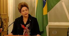 'Meu governo não está envolvido em escândalo de corrupção', diz Dilma
