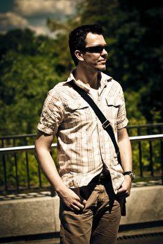 Shirt Zara, trousers Wrangler
