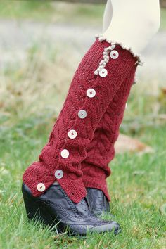 Free Pattern: legwarmers by piecesofVe