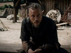 Travis Fimmel as Ragnar Lothbrok.  I don't know if Ragnar Lothbrok was ever supposed to be soo sexy!!