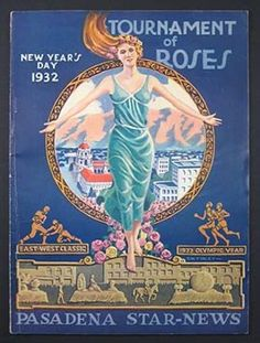 Pasadena Star News, New Year's Day, 1932.