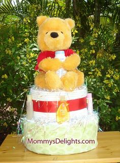 Diaper Cakes and Baby Shower gifts: - Diaper Cakes, Baby Shower Gifts, Candles, Creative, Baby Shower Presents, Shower Gifts, Nappy Cake, Baby Shower Ideas, Candle