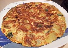 Another zucchini tortilla cooked by Azhar Media, audiovisual production company (Seville, Andalusian, Spain)