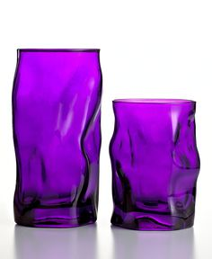 Bormioli Rocco Glassware, Set of 6 Sorgente Purple Water Glasses - Glassware - Dining & Entertaining - Macy's