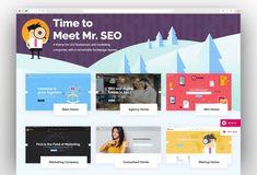Mr. SEO - SEO, Marketing Agency and Social Media Theme