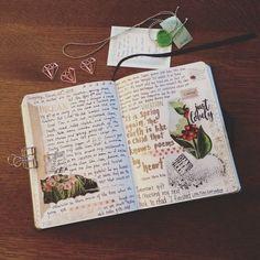 Spring break! Let's do this. ☕️ . . . #journal #journaling #notebook #diary #bujo #bulletjournal #write #introvert…