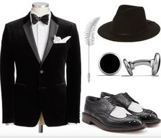 Mens fashion 1920s prohibition inspired style