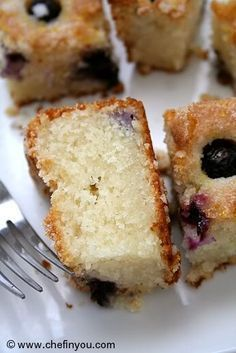 "Eggless ""melt-in-mouth"" Blueberry Boy Bait Cake recipe Eggless Desserts, Eggless Recipes, Eggless Baking, Vegan Baking, Delicious Desserts, Egg Desserts, Healthy Desserts, Healthy Drinks, Bake Off Recipes"