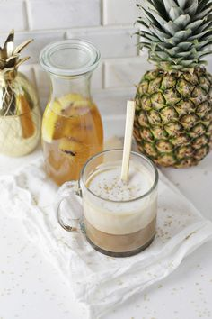 Grilled Pineapple Latte