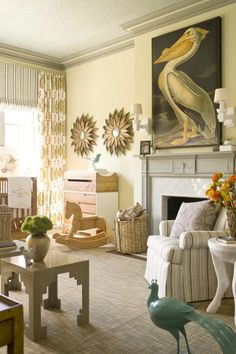 Love the adult twists on a classic nursery!