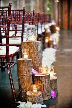 18 Beautiful Wedding Aisle Decoration Ideas ❤ It's so important to put attention on aisle decoration, place where you will say the most important words. Consider ours wedding aisle decoration ideas! See more: http://www.weddingforward.com/wedding-aisle-decoration-ideas/ #weddings #aisledecoration