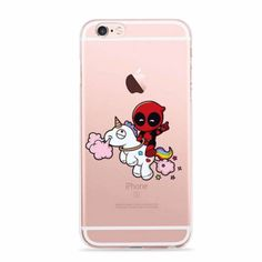 Marvel-Comics-Super-Hero-Cute-DEADPOOL-Phone-Case-for-iPhone-5-5s-6-6s-SE-ic24