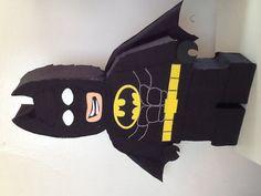 Piñata de Batman. Batman lego. Fiesta de Batman. por aldimyshop
