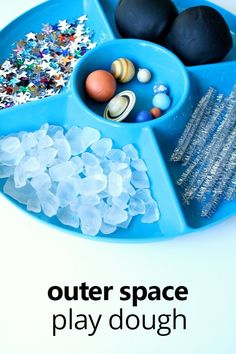 Outer space playdoug