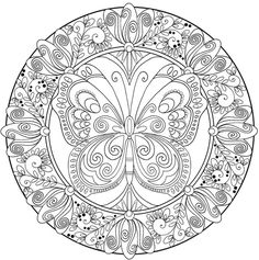 Mandala 05 one of the most popular coloring page in Mandala category. Explore more coloring pages like Mandala 05 from the Coloring. Free Adult Coloring Pages, Pattern Coloring Pages, Mandala Coloring Pages, Animal Coloring Pages, Coloring Pages To Print, Free Printable Coloring Pages, Coloring Book Pages, Coloring Sheets, Tattoo Coloring Book