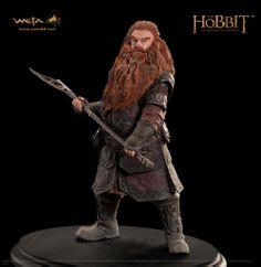 Estatua enano Gloin 23 cm. El Hobbit: Un Viaje Inesperado. Weta Collectibles