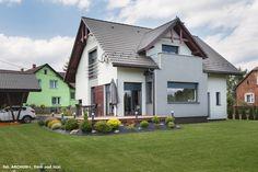 Projekt domu Dom pod liczi ver.2 Realizacje - ARCHON+ Home Fashion, Mansions, House Styles, Home Decor, Decoration Home, Manor Houses, Room Decor, Villas, Mansion
