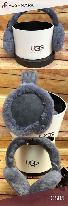 Shop Women's UGG Gray size OS Accessories at a discounted price at Poshmark. Description: NWT Women's Double U Earmuffs - Gray. Double U, Earmuffs, Plus Fashion, Fashion Tips, Fashion Trends, Uggs, Women Accessories, Gray, My Favorite Things