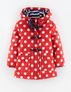 Spotty Raincoat 35121 Coats at Boden