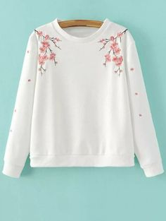 SHARE & Get it FREE | Titoni Embroidered SweatshirtFor Fashion Lovers…