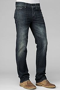 7 For All Mankind : Black Jeans