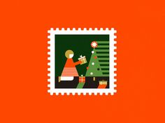 Here again, I upload a wrong version.  Making some stamps for christmas postcards.