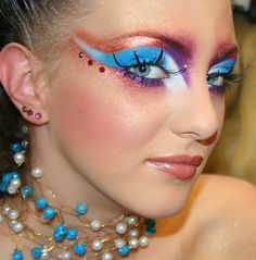 Make Up, lets play dress up! Awesome stage makeup!