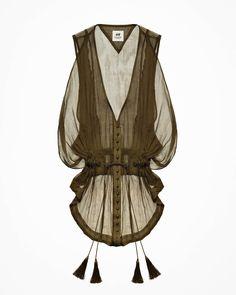 sleeveless chiffon blouse $34.95 H&M (sold out)