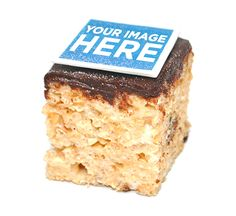 Treat House has a deal that lets you top its delicious rice krispie treats with a custom-printed square candy. You can choose from more than 15 different recipes, too, like birthday cake, s'mores, or original.