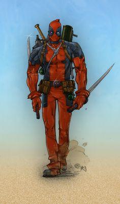 #Deadpool #Fan #Art. (Someone's gonna die) By: Arnfinnur. (THE * 5 * STÅR * ÅWARD * OF: * AW YEAH, IT'S MAJOR ÅWESOMENESS!!!™) [THANK U 4 PINNING!!!<·><]<©>ÅÅÅ+(OB4E)