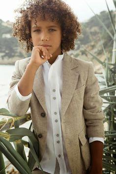 LOS ARTISTAS EN PRIMERAS COMUNIONES: RUBIO KIDS Baby Boy Dress, Baby Boy Outfits, Kids Outfits, Little Kid Fashion, Toddler Fashion, Cute Mixed Babies, Cute Babies, Young Fashion, Boy Fashion