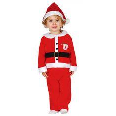 Disfraz de Santa Claus para Bebe #Navidad #Infantil #Papa #Noel