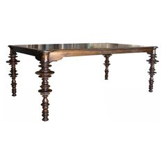 Ferret Dining Table Brown NOIGTAB412D