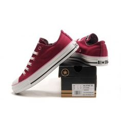 Converse All Star OX Shoes Red Tenisky Converse 5159986a7dee
