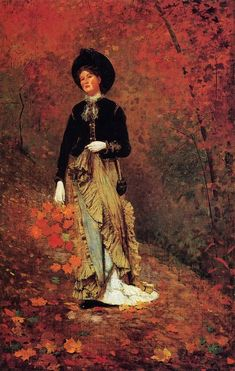 """Winslow Homer """"Autumn"""""""