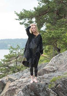 Mariko dress in linen – Dresses & Tunics – Gudrun Sjödén